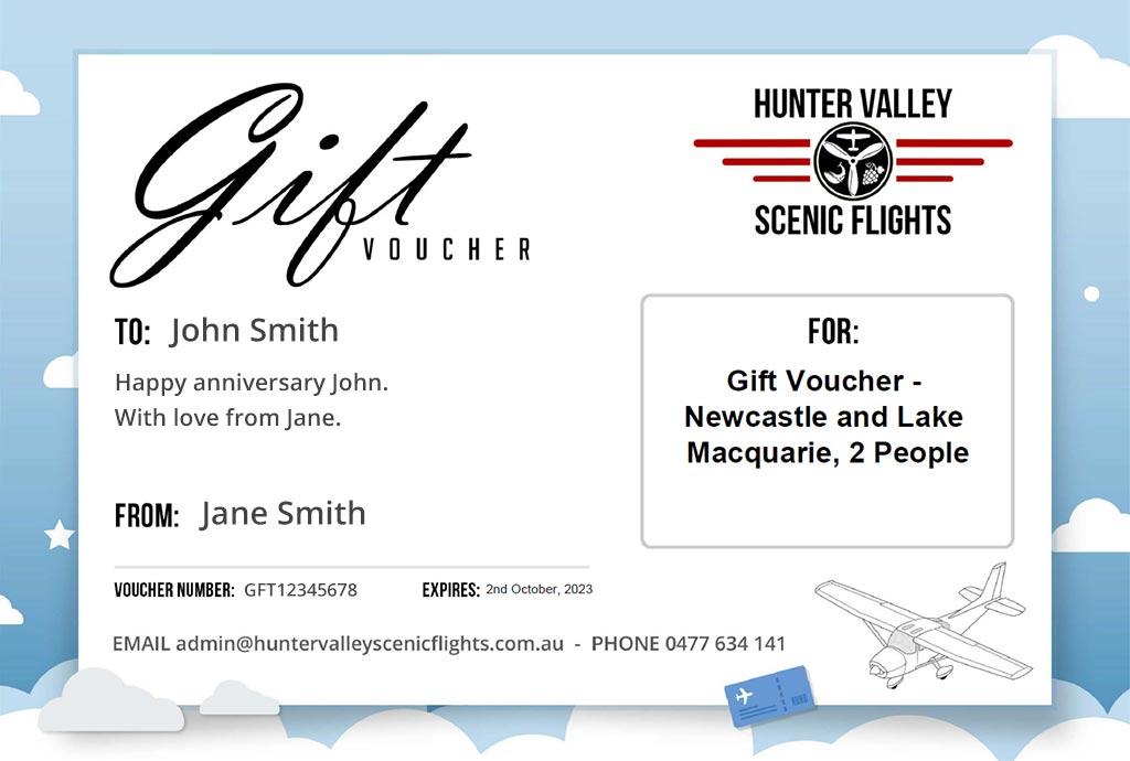 Scenic Flight Gift Voucher